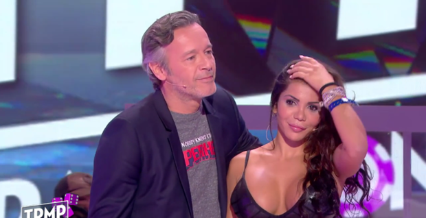 Soraya appeared on a French TV as part of a sketch poking fun at the Kim Kardashian robbery