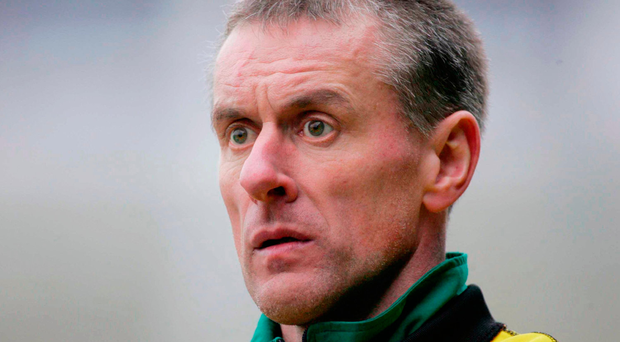 Moorefield manager Seamus Dowling. Picture credit: Kieran Clancy / SPORTSFILE