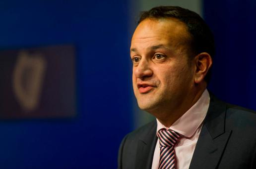 Minister for Social Protection Leo Varadkar. Photo: Douglas O'Connor