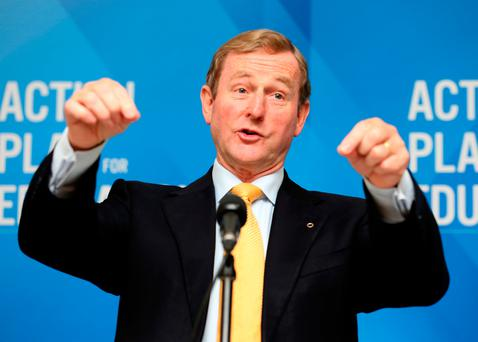 Taoiseach Enda Kenny and the Government must make a choice over pay deals Picture: Tom Burke