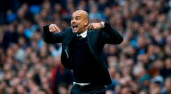 Manchester City manager Pep Guardiola Picture: Reuters / Phil Noble