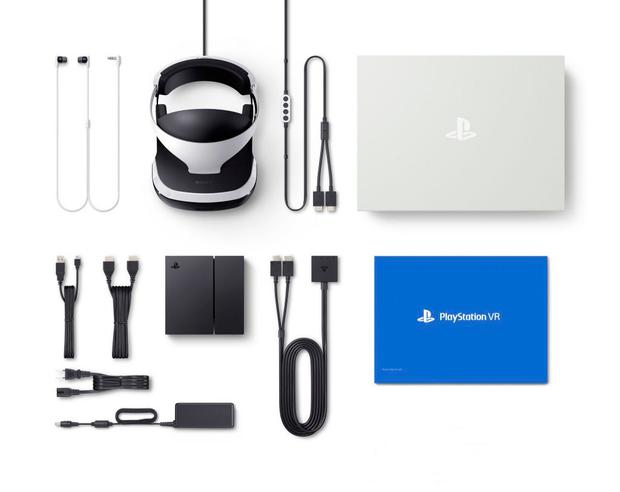 What's in the box: the many parts of PlayStation VR