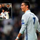 Cristiano Ronaldo invited Fernando Ricksen to the Berabeu