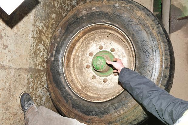 Farmers often neglect rims and tyres because they assume all that can go wrong here is a puncture. Wheel nuts need to be checked every few days to ensure they are tight. Those who do a lot of road travel between farms have to be extra careful.