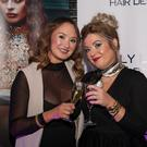 Guests at the opening of Kelly Leung Hair Design in Malahide.