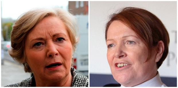 Frances Fitzgerald and Noirín O'Sullivan