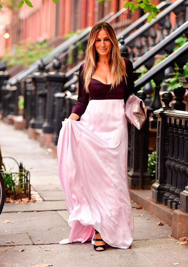 Sarah Jessica Parker seen on the streets of Manhattan on September 20, 2016 in New York City. Photo: James Devaney/GC Images
