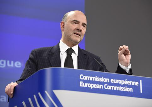 European Economic and Financial Affairs Commissioner Pierre Moscovici. (Photo: JOHN THYS/AFP/Getty Images)