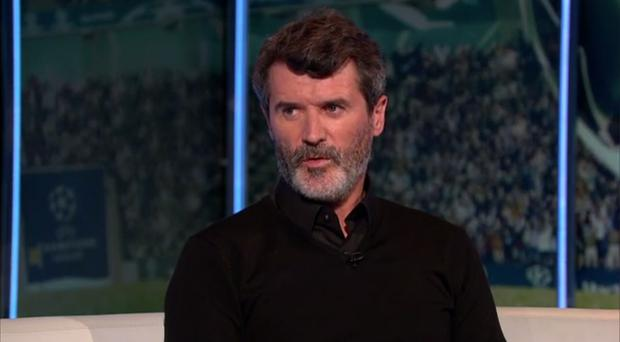 Roy Keane hit out at United's finishing after their Europa League win against Anderlecht. Photo: ITV