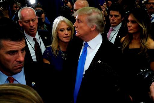 Kellyann Conway said Mr Trump has pulled off comebacks several times before. Photo: REUTERS/Jonathan Ernst