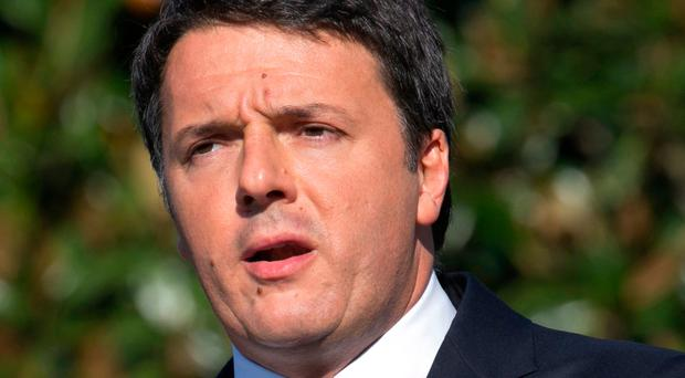 Italy's Matteo Renzi. Photo by Shawn Thew/Getty Images