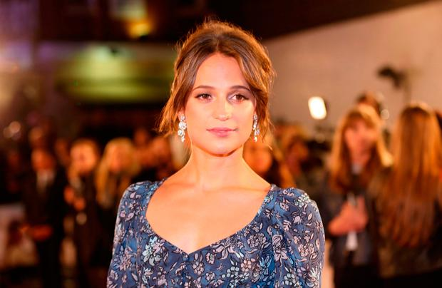 Alicia Vikander attending the The Light Between Oceans UK Premiere, at Curzon Mayfair, London.
