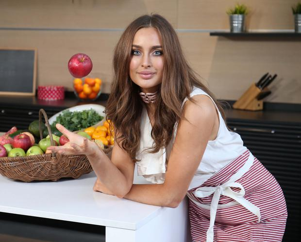 Pictured at the launch of the third series of RTÉ One's The Taste of Success was new mentor Roz Purcell. Pic. Robbie Reynolds