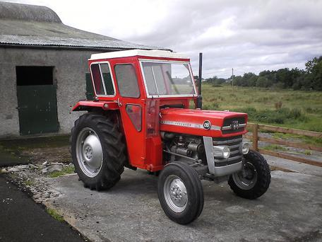 The tractor is still sought after in the 21st century in the second-hand market
