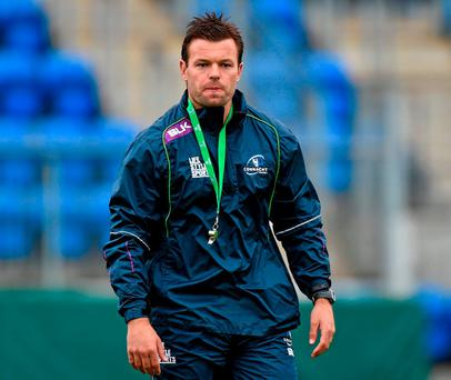 Connacht Eagles head coach Mossy Lawler. Photo: Matt Browne / Sportsfile