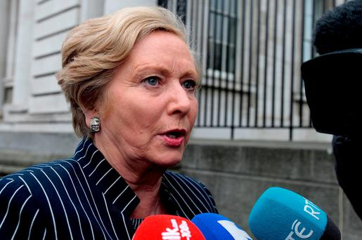 Tánaiste Frances Fitzgerald. Photo: Tom Burke