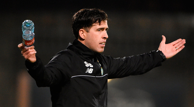 Stephen Bradley is caretaker coach at Rovers
