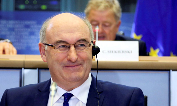 European Union Agriculture Commissioner Phil Hogan Photo: Reuters/Francois