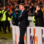 Dundalk manager Stephen Kenny at the end of the UEFA Europa League Group D match between Dundalk and Zenit St Petersburg at Tallaght Stadium