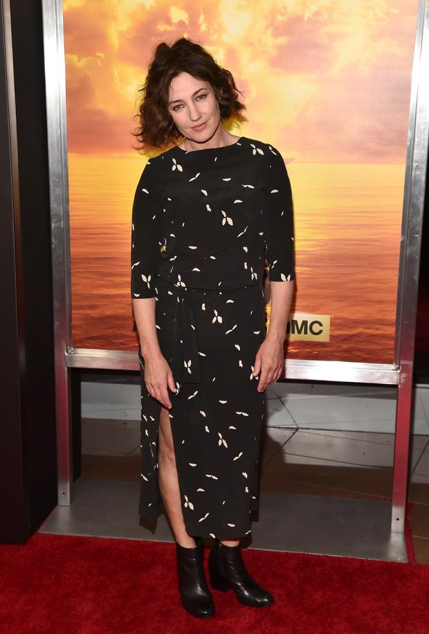 Actress Orla Brady attends the premiere of AMC's