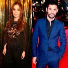 Cheryl, left, and Jean Bernard Fernandez Versini, right