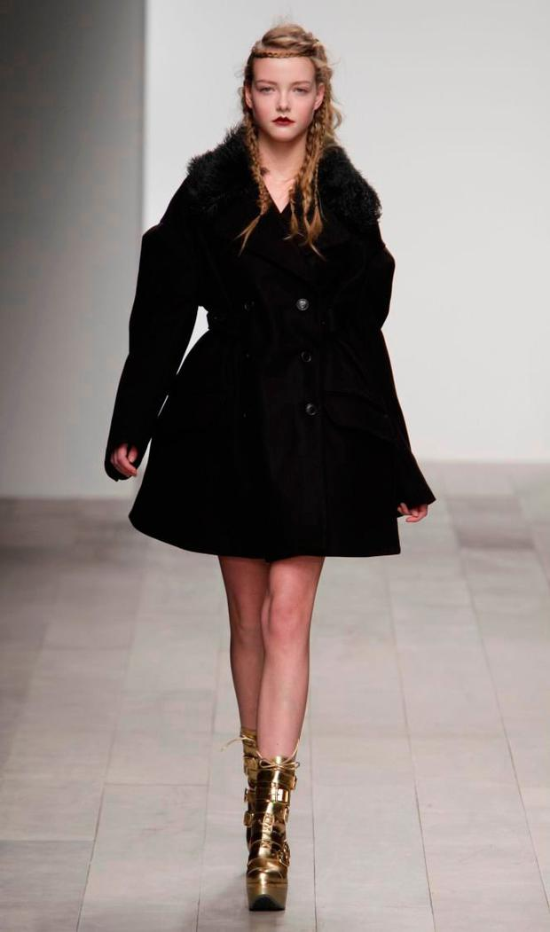 Danielle Winckworth for John Rocha during London Fashion Week