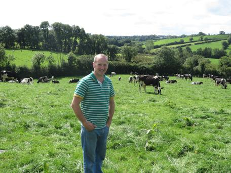 Dermot Sherry, a Co Monaghan farmer, who won the Liquid/Winter Milk Category
