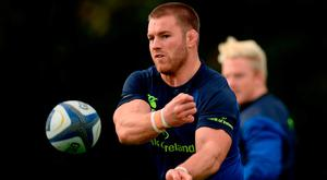 Sean O'Brien returns to Leinster's starting XV this week