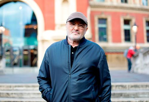 Phil Collins, ready to go back on the road. Photo: Yui Mok/PA Wire
