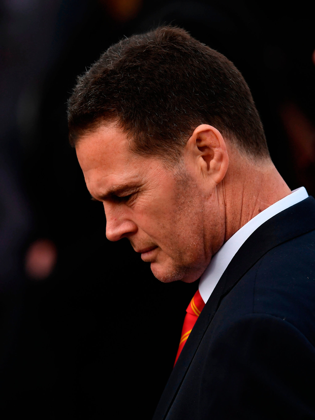 Munster director of rugby Rassie Erasmus Photo by Stephen McCarthy/Sportsfile