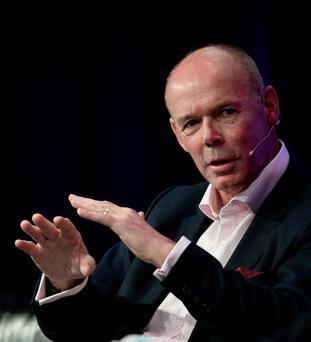 Clive Woodward yesterday in Dublin Picture: INPHO/Morgan Treacy