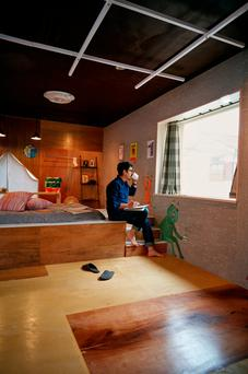 Airbnb likes to showcase its hipster apartments, like this one in Tokyo. Photo: David Elliot