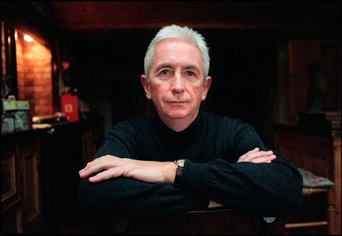 Author and journalist Peter Cunningham at his home in Donadea, Co. Kildare. Photo: Tony Gavin