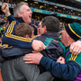 Corofin management celebrate winning the All-Ireland club title last year. Picture credit: Ray McManus/Sportsfile