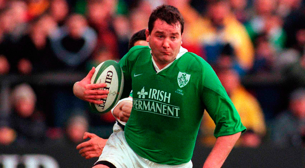 Anthony Foley often proved to be the key man for Ireland at a time when Irish rugby was struggling. Photo: Sportsfile