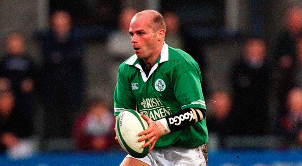 Paul Burke, former Ireland and Munster outhalf, pays tribute to his former teammate. Photo: Sportsfile