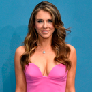 Flaunt: Liz Hurley continues to show off her body Photo: Evan Agostini/Invision/AP
