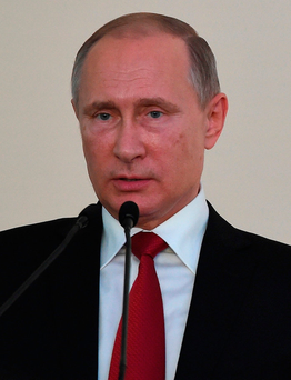 Russian President Vladimir Putin Photo: PRAKASH SINGH/AFP/Getty Images