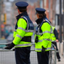 Strike force: Gardai on duty