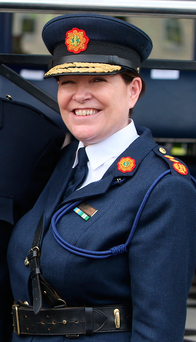 May the force be with you: Garda Commissioner Noirin O'Sullivan Photo: Damien Eagers
