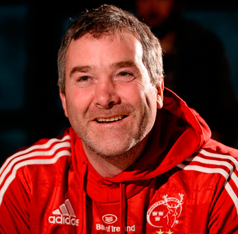 'Anthony Foley could be as hard as nails. You have to be in rugby. But he embodied an old-fashioned manliness. It was built on the idea of respect. For yourself, your team, your family, your community' Photo: Diarmuid Greene/Sportsfile