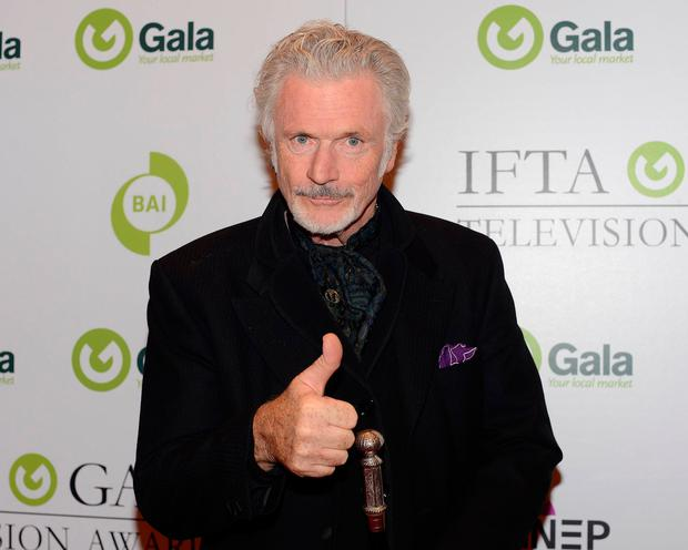 Patrick Bergin at the IFTA Gala Television Awards 2016