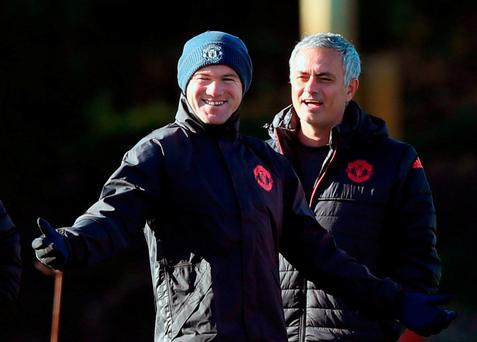 Mourinho says Rooney is a Man Utd legend and deserves to make his own choice CREDIT: PA