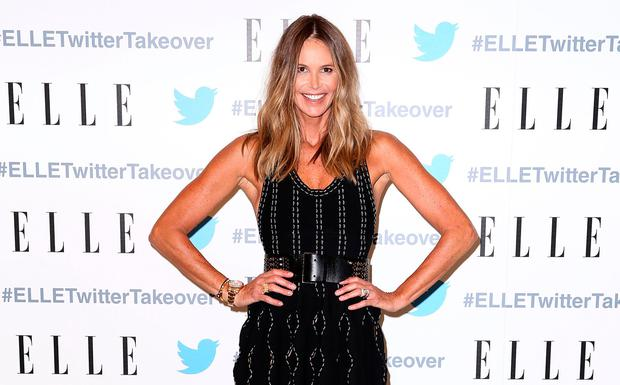Elle Macpherson arrives at TwitterAU HQ on September 12, 2016 in Sydney, Australia. (Photo by Mark Metcalfe/Getty Images)