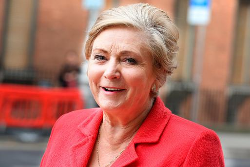 Tánaiste Frances Fitzgerald: committed to negotiation. Photo: Tom Burke