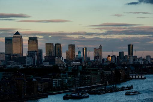 These institutions have shaped the City of London into Europe's banking capital since the advent of the single market. (Photo by Chris J Ratcliffe/Getty Images)