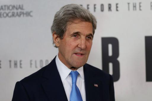 Secretary John Kerry. Photo by Mohammed Elshamy/Anadolu Agency/Getty Images