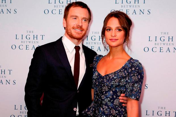 Michael Fassbender and Alicia Vikander. Photo: Isabel Infantes