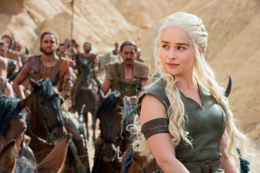 Emilia Clarke in 'Game of Thrones', produced by HBO.