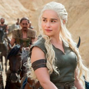 Emilia Clarke in 'Game of Thrones', produced by HBO. The cable and satellite TV network is part of Time Warner, which is being bought by US telecoms giant AT&T